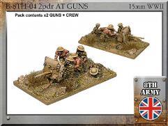 2pdr Anti Tank Gun w/Crew