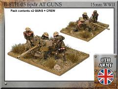 6 pdr Anti Tank Gun