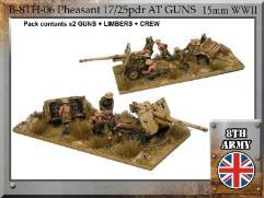 17/25 pdr Pheasant Anti Tank Gun