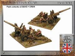 """5.5"""" Guns w/Crew"""