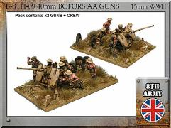 40mm Bofors Anti Aircraft Gun w/Crew