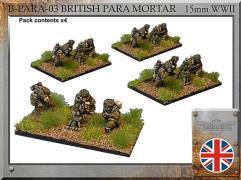 "Paratrooper 3"" Mortar w/Crew"