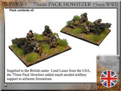 Paratrooper 75mm Howitzer Pack
