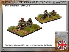 Paratrooper Vickers HMG Teams