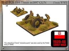 75mm m1897 Gun