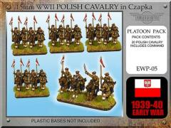 Polish Cavalry in Chapzka w/Lance