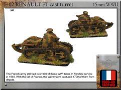 Renault FT Cast Turret