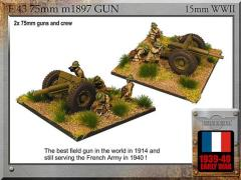 75mm m1897 Gun w/Crew