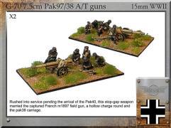 7.5cm Pak97/38 A/T Guns