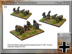 15cm Nebelwerfer w/Crew