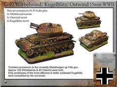 FlakPanzer IV - Wirbelwind/Kugelblitz/Ostwind