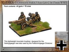 Paratrooper 7.5cm GebG36