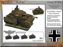 Pz IVH-G Tanks (4)