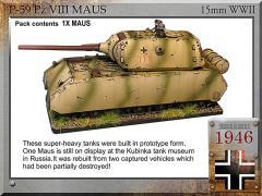 Pz VIII Maus 12.8cm/7.5cm