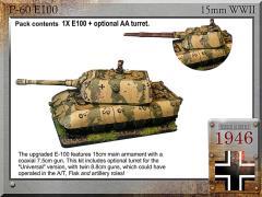E-100 Super Tank w/UA88 & 15cm/7.5cm Turrets