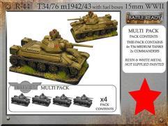 T-34/76 m42/43 w/Fuel Boxes