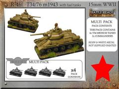 T-34/76 m43 w/Fuel Tanks