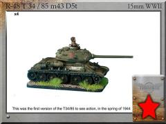 T-34/85 m43 D5T