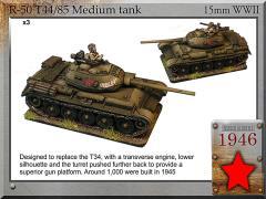 T-44/85 Medium Tank