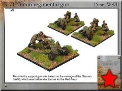 76mm m43 Regimental Gun