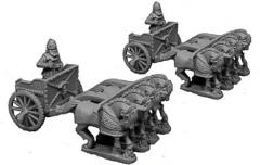 4-Horse Scythed Chariot - Later