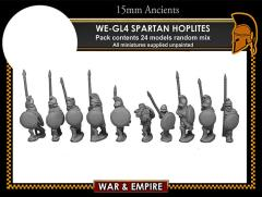 Hoplites - Greek/Spartan, Later