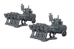 4-Horse Heavy Chariots - Indian