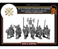 Clibanarii Cavalry w/Felt Armored Horses - Sassanid