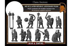 Legionarii w/Pilum - Later Republican