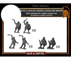 Auxiliary Slingers & Legionary Light Infantry - Early Imperial