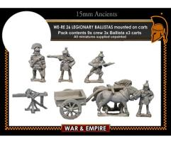 Legionary Ballistas on Carts - Early Imperial