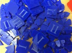War & Empire Acrylic Token Set - Blue