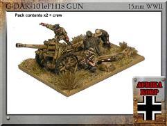 leFH18, 10.5cm Gun w/Crew