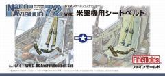 1/72 WWII US Aircraft Seatbelt Set