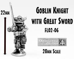 Goblin Knight w/Great Sword