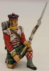 2nd Battalion - 92nd Highlander Kneeling to Repel #1