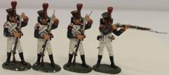 54th Line Infantry Regiment - Grenadier Company 3 Loading 1 Firing