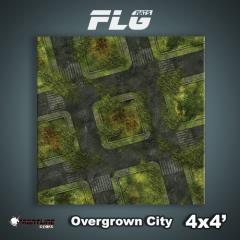 4' x 4' - Overgrown City