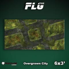6' x 3' - Overgrown City