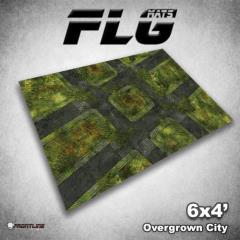 6' x 4' - Overgrown City
