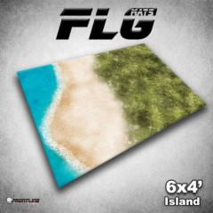 6' x 4' - Island