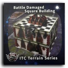 Battle Damaged Square Building