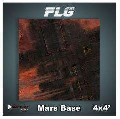4' x 4' - Mars Base