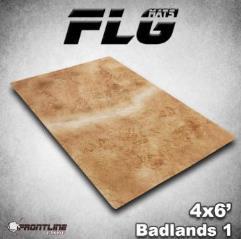 6' x 4' - Badlands #1