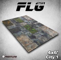 6' x 4' - City #1
