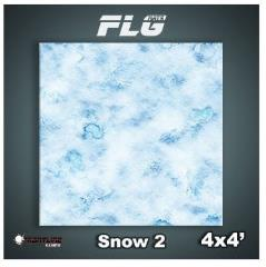 4' x 4' - Snow #2