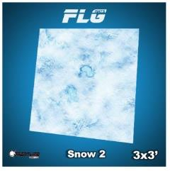 3' x 3' - Snow #2