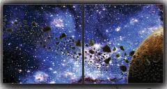 3 x 3' - Asteroid Belt (Limited Edition)