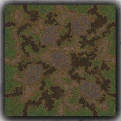 3 x 3' - Swamp
