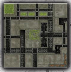 4' x 4' - Urban Zone